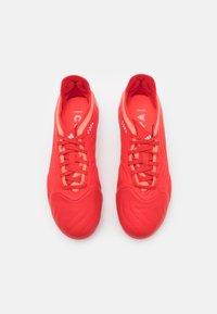 adidas Performance - COPA SENSE.1 FG UNISEX - Kopačky lisovky - red/footwear white/solar red - 3