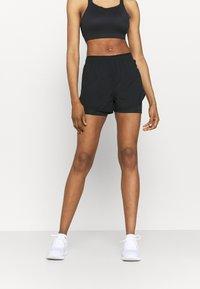 Nike Performance - TEMPO LUXE SHORT - Short de sport - black - 0