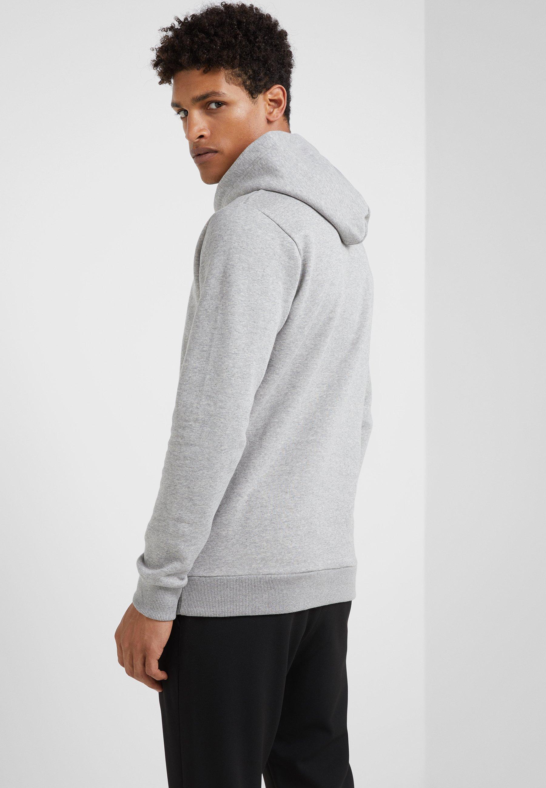 Men ENCORE HOODIE - Hoodie - mottled grey