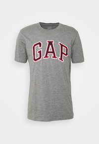 BAS ARCH - Print T-shirt - grey heather