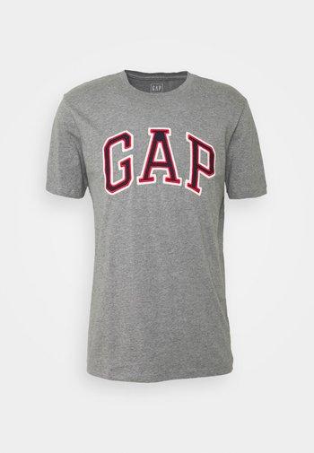 BAS ARCH - T-shirt imprimé - grey heather