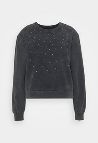 Trendyol - Sweatshirt - siyah - 0