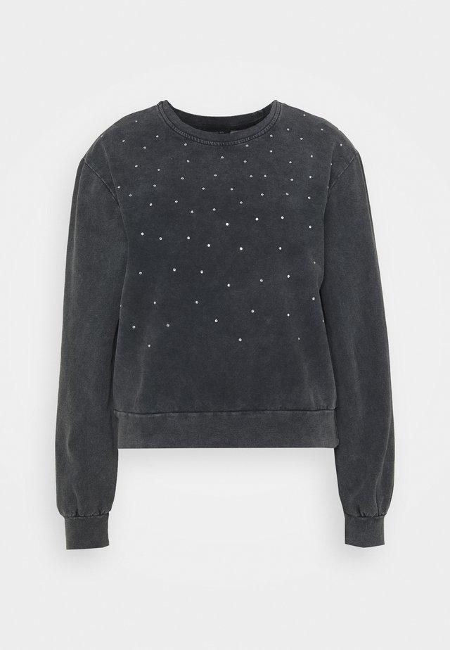 Sweatshirt - siyah