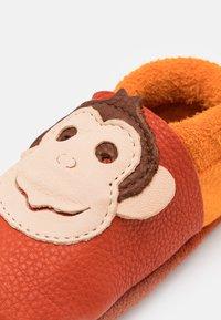 POLOLO - KING LUI UNISEX - First shoes - orange/mango - 5