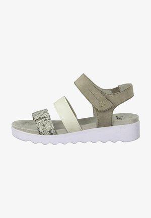 Sandals - grey comb