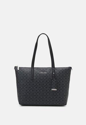 MUST SHOPPER MONO - Handbag - black