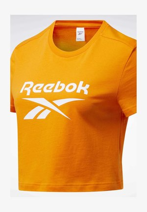 CLASSICS BIG LOGO T-SHIRT - Camiseta estampada - orange
