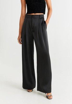 SATI - Spodnie materiałowe - schwarz