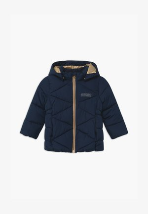 NMFMILTON PUFFER CAMP - Winter coat - dark sapphire