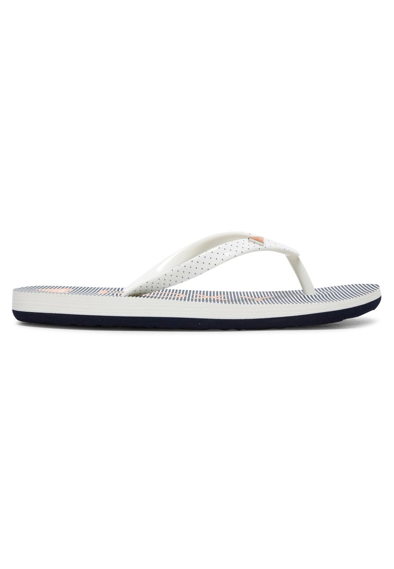 Roxy - PEBBLES  - Pool shoes - blue/white