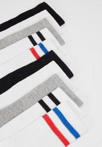 Urban Classics - SPORTY SOCKS 10 PACK - Sokken - black/white/grey - 2