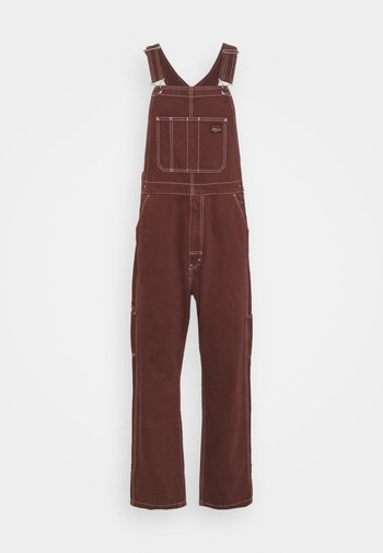 RT OVERALL - Dungarees - bitter chocolate