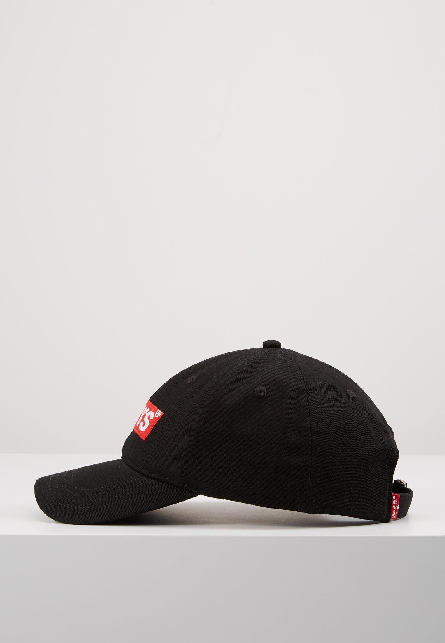 Levi's® BOX TAB - Cap - regular black/svart HUaA8UcUprdDc42