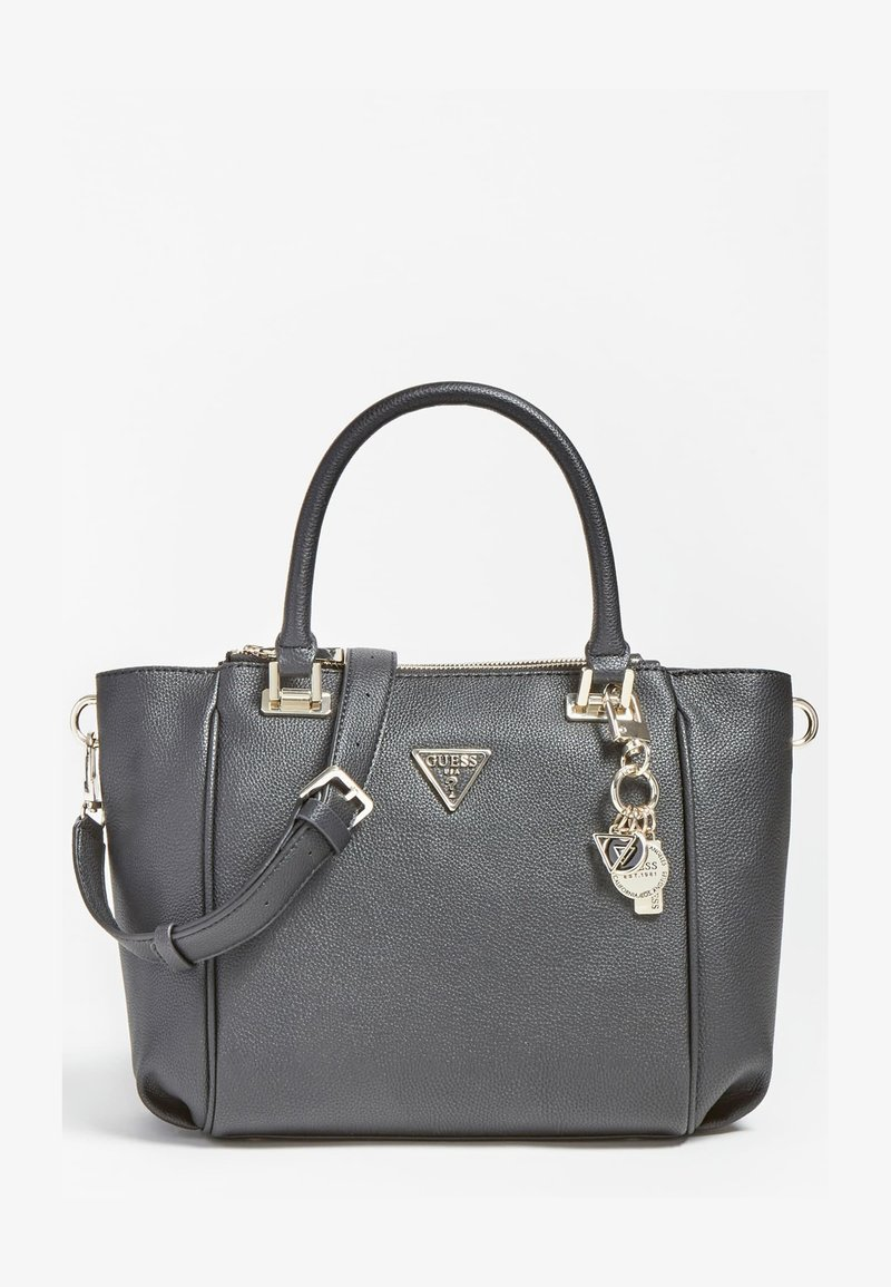 Guess - DESTINY RIEMEN - Handbag - schwarz