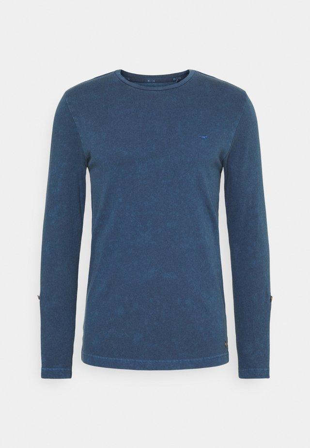 ANTON CREW - T-shirt à manches longues - ensigne blue