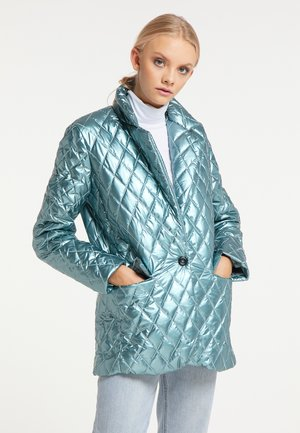 Winter jacket - hellblau