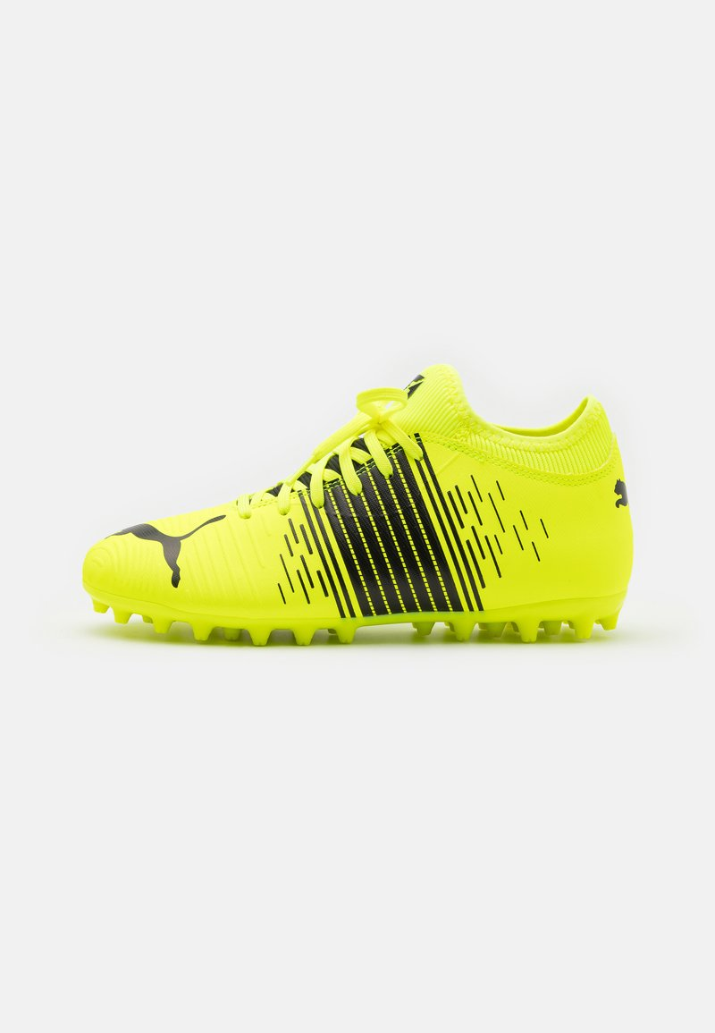 Puma - FUTURE Z 4.1 MG JR UNISEX - Moulded stud football boots - yellow alert/black/white