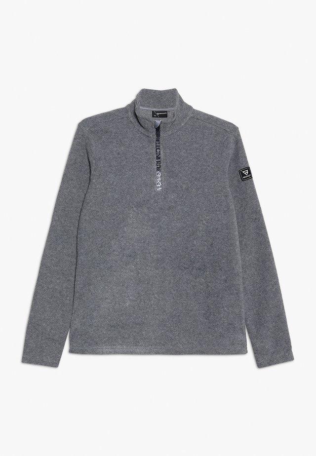 TENNO BOYS - Fleecepaita - mid grey