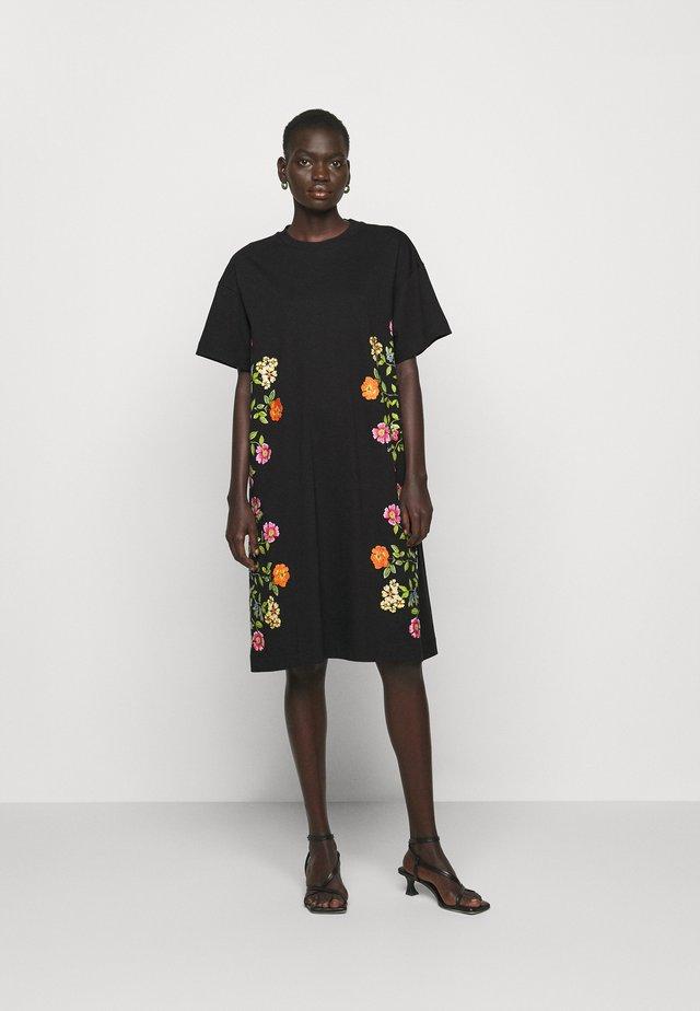 DRESS - Sukienka z dżerseju - nero