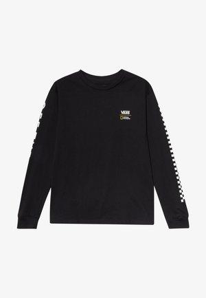 GEO GLOBE BOYS - Camiseta de manga larga - black