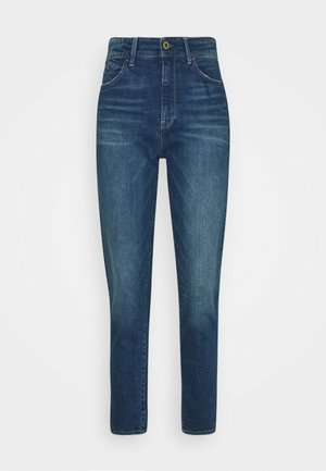 JANEH ULTRA HIGH MOM ANKLE WMN - Slim fit jeans - antic faded oregon blue