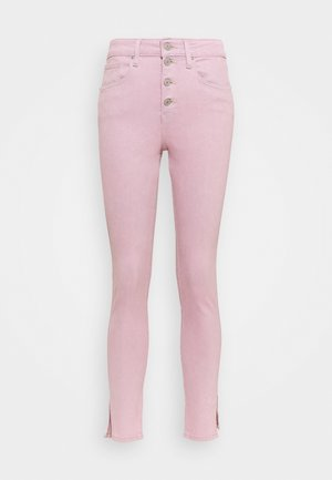 721 EXPOSED BUTTONS ANK - Jeans Skinny Fit - urban peony