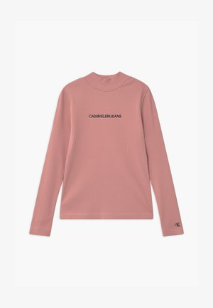 MOCK NECK - Long sleeved top - pink