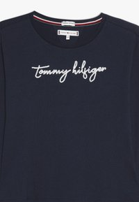Tommy Hilfiger - SEQUINS GRAPHIC TEE  - Long sleeved top - blue - 3