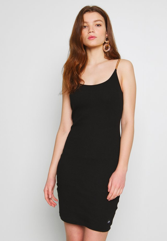 DRESS - Robe fourreau - black