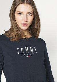 Tommy Jeans - LALA TEE - Topper langermet - twilight navy - 3