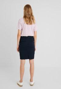 Dranella - ILANO SKIRT - Blyantnederdel / pencil skirts - dark sapphire - 2