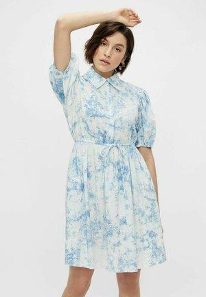 Shirt dress - whispy blue