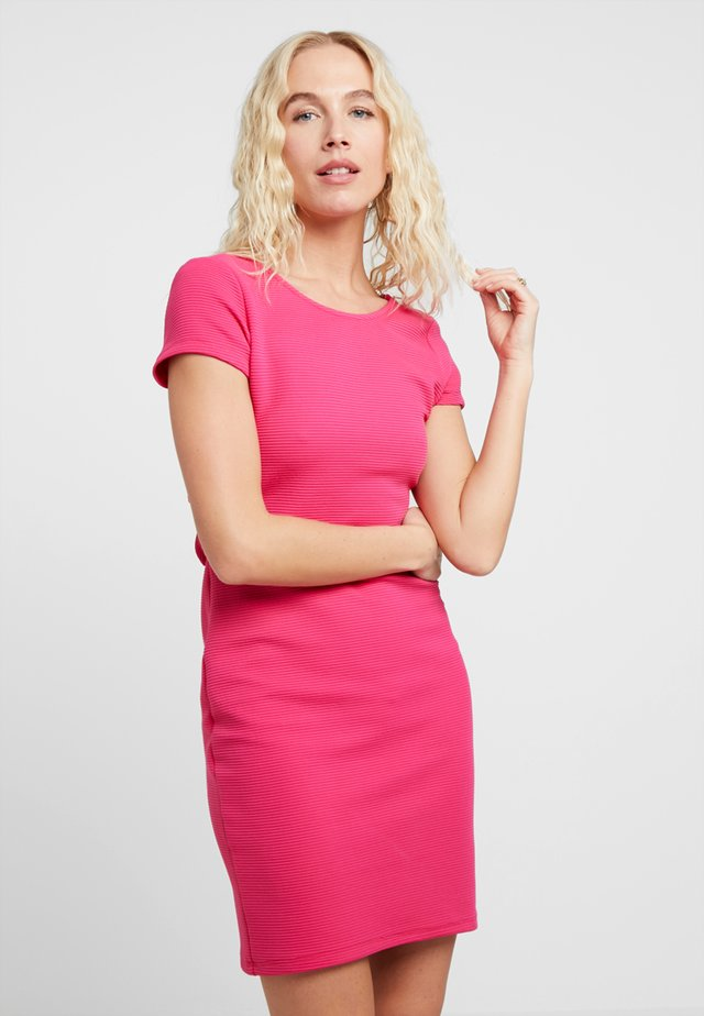 BOW - Shift dress - pink