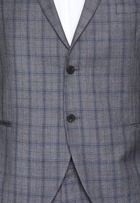 Isaac Dewhirst - CHECK SUIT PLUS - Costume - grey - 3