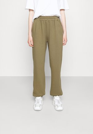 WILLIE PRINTED PANTS - Tracksuit bottoms - green