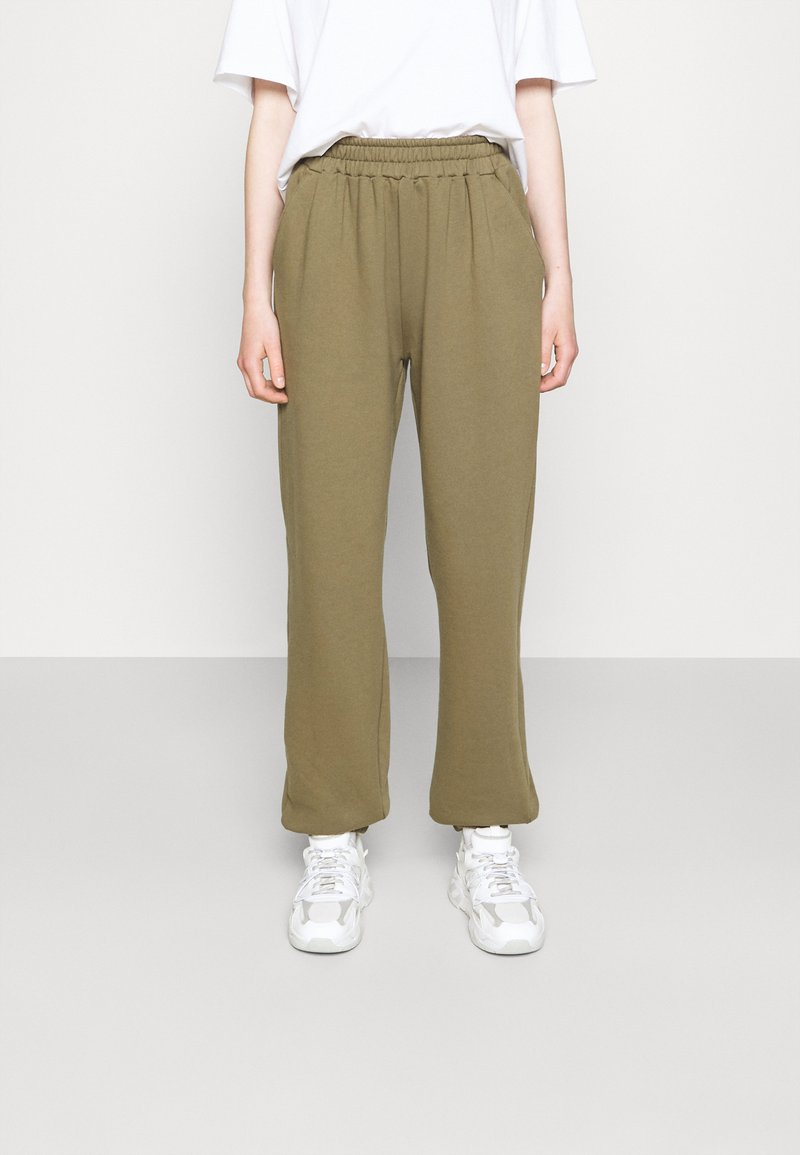 DESIGNERS REMIX - WILLIE PRINTED PANTS - Tracksuit bottoms - green