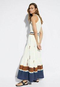 Massimo Dutti - Maxi skirt - white - 2