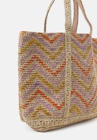 Vanessa Bruno - CABAS MOYEN - Tote bag - multico/orange - 3