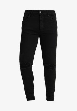DISTRESSED  - Skinny džíny - black
