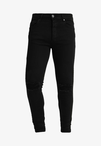 DISTRESSED  - Jeans Skinny Fit - black