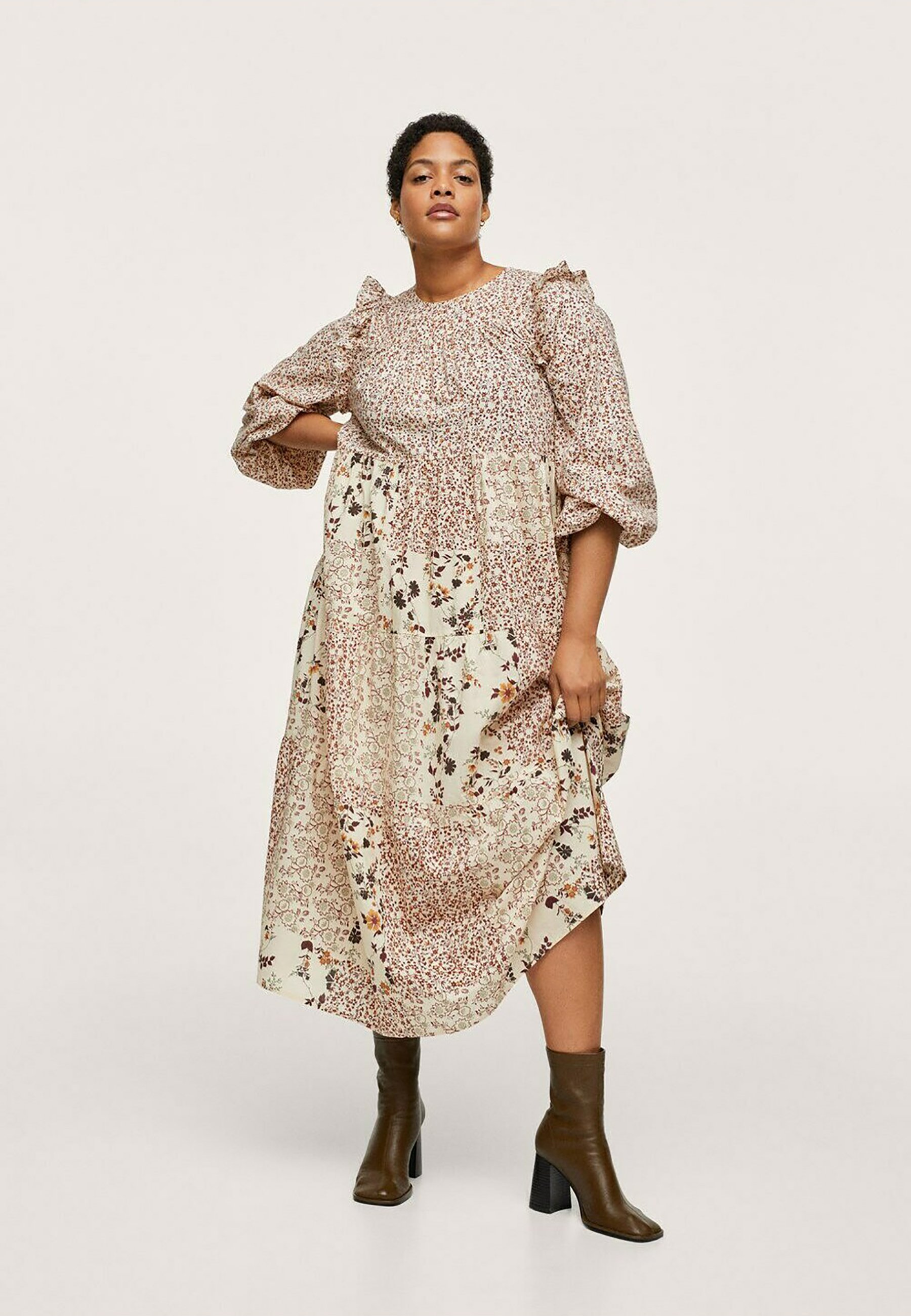 Mujer MET PATCHWORK - Vestido informal