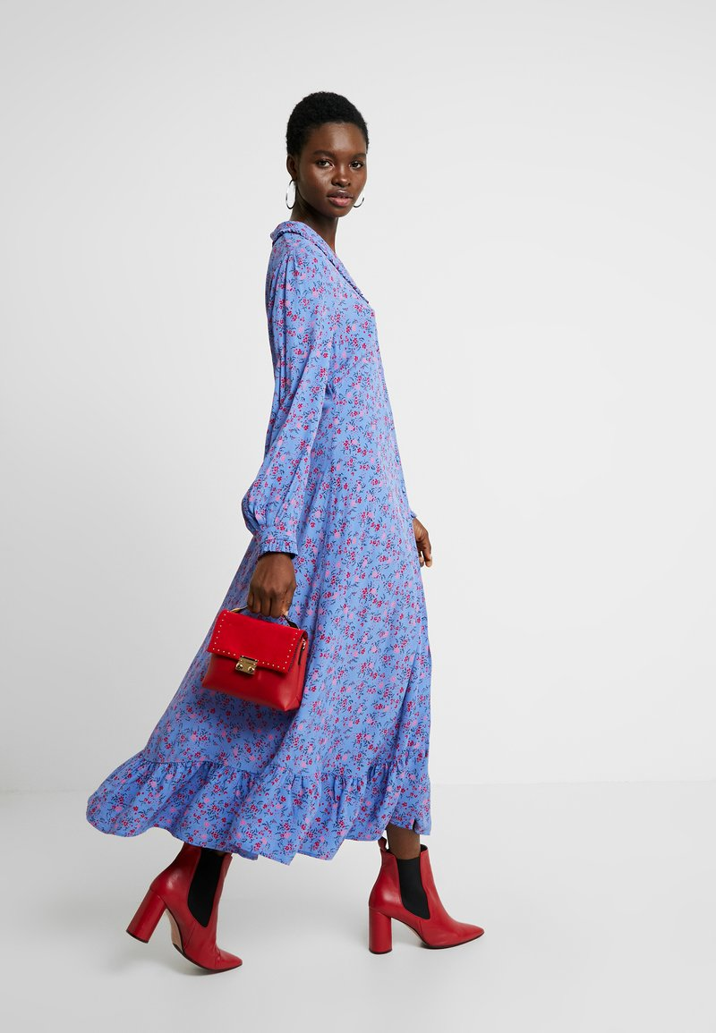 ghost anouk dress - blusenkleid - blue/blau - zalando.ch