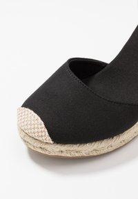 New Look - TRINIDAD - High heeled sandals - black - 2