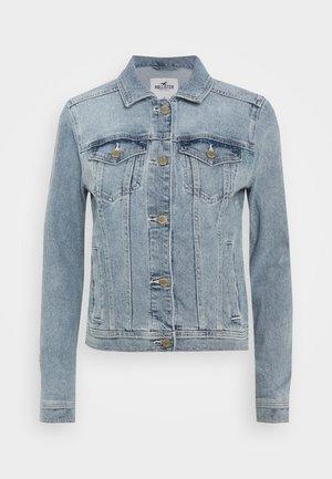 CLASSIC JACKET - Denim jacket - medium wash denim