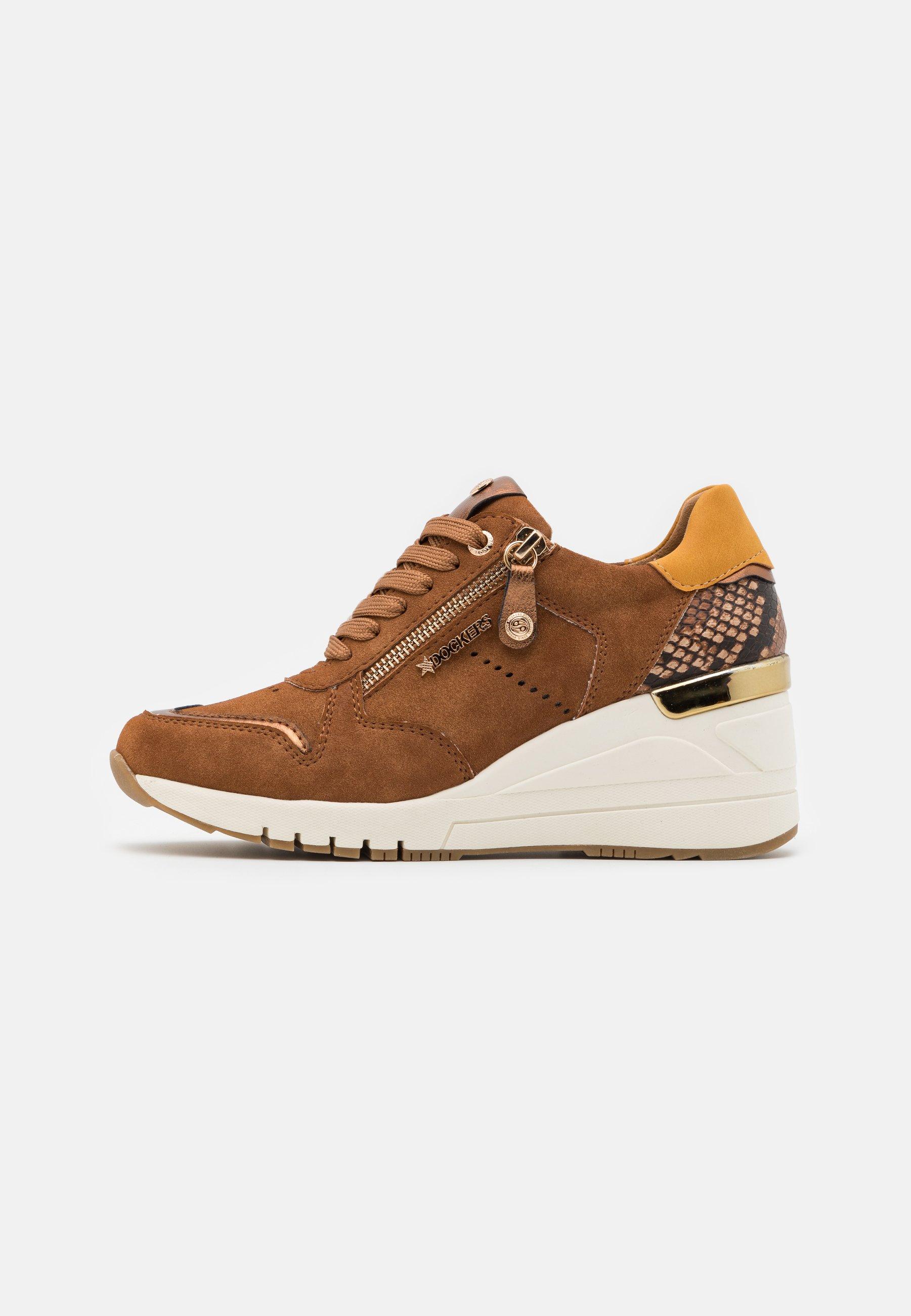 Dockers By Gerli Sneaker Low - Cognac/braun/cognac