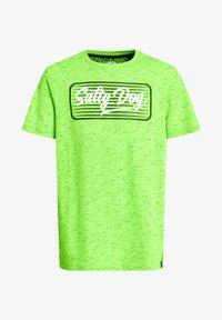 WE Fashion - MET OPDRUK - Print T-shirt - bright green - 2