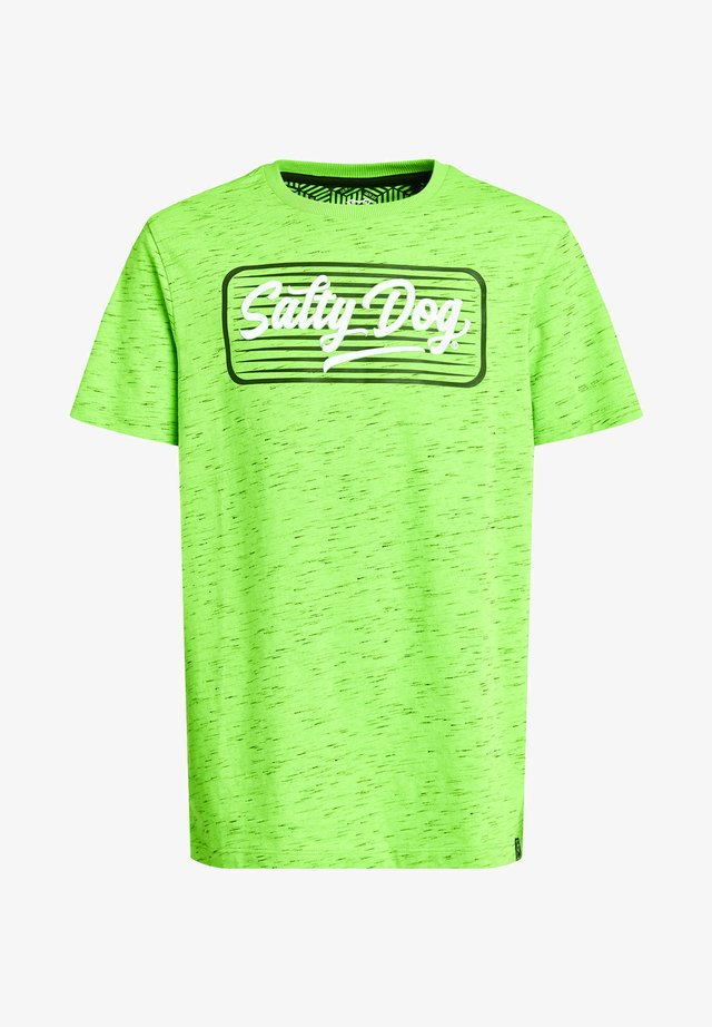 MET OPDRUK - T-shirt con stampa - bright green