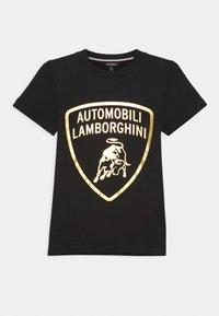 Automobili Lamborghini Kidswear - SHIELD - Print T-shirt - black pegaso - 0