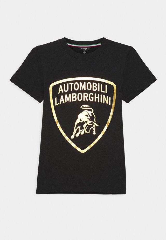 SHIELD - Print T-shirt - black pegaso