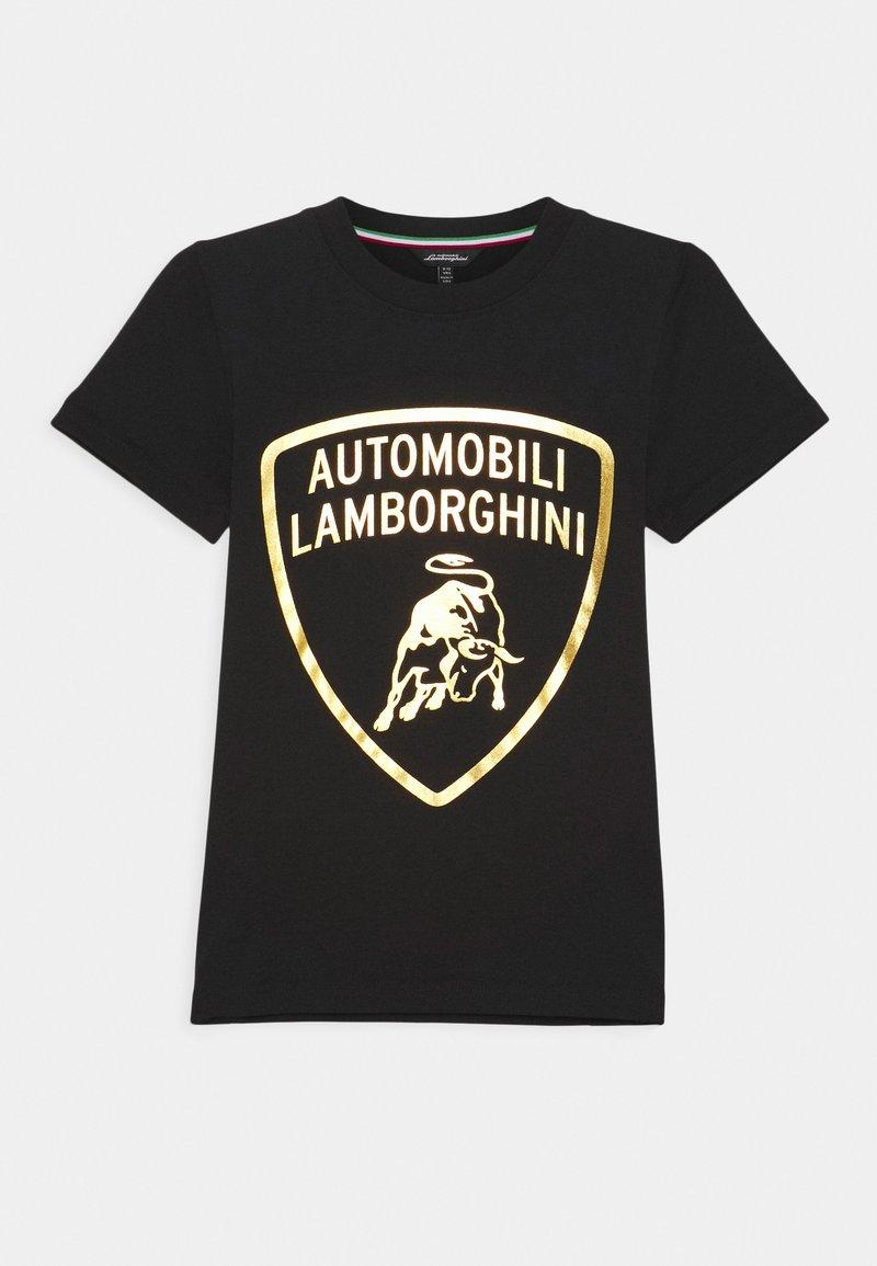 Automobili Lamborghini Kidswear - SHIELD - Print T-shirt - black pegaso